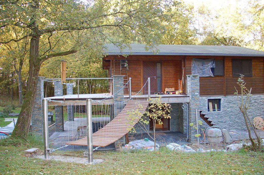Terrasse Haute Et Terrasse Basse Couverte Renov Immo